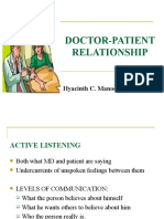 DOCTOR-PATIENT PSYCH III