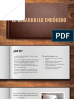 Semana Jueves 22 de Abril de 2021 - El Desarrollo Endógeno.pptx