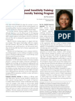 Diversity Journal | Building a Diversity Training Program - Jan/Feb 2010
