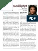 Diversity Journal | Building a Diversity Training Program - Jan/Feb 2010