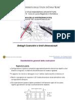 Lezione n.13 - dettagli costruttivi
