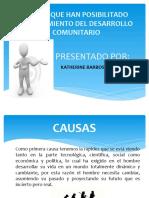 CAUSAS EDUCACION