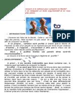 Cours -Bac-français-mod 3 Liberté -