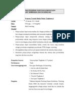 Contoh Laporan Program  (Untuk Perkongsian GUru Bimbingan dan Kaunseling)