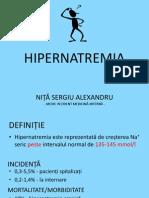 HIPERNATREMIA