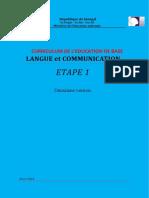 1. LANGUE ET COMMUNICATION 1,   EFA words