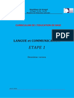 1. Langue Et Communication 1, Efa