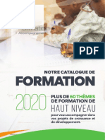 Brochure Catalogue Formation Sense 2