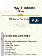Strategy & Business Plans