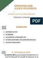 GUCE-WEBINAIRE-IMPORTATION DES VEHICULES D'OCCASION-PRESENTATION-SGS