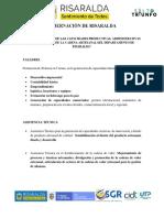 FORTALECIMIENTO DE CAPACIDADES PRODUCTIVAS ARTESANOS