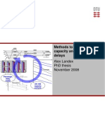 Methods to estimate railway capacity and passenger delays(al)