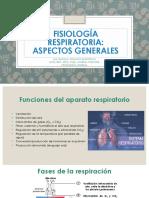 5  Fisiología Respiratoria Generalidades