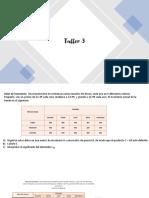 Taller y Solucion 3 de Modelos Matematicos