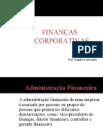 Financas Corporativas
