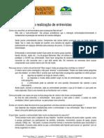 8 - Metodologia do Trabalho Científico e Orientação de TCC - orientacoes Entrevista