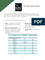 Waukaway Water Quality Report