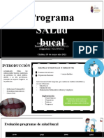 Programa Salud Bucal