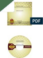 8 - Metodologia do Trabalho Científico e Orientação de TCC - MODELO+PADRÃO+PARA+CAPA+E+ETIQUETA+DE+CD.