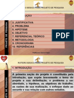8 - Metodologia do Trabalho Científico e Orientação de TCC - 2. ESBOÇO DO PROJETO