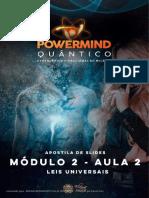 PDF Da Aula Leis Universais