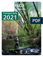 Castilla La Mancha - Folleto de Pesca 2021