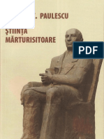 Doctorul Nicolae C Paulescu Sau Stiinta Marturisitoare