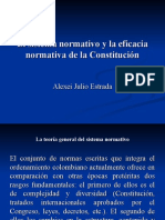 El sistema normativo y la eficacia normativa de la Constitución 2012 version 2 (1)