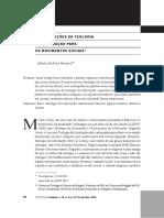 Contribuições da Teologia da Libertação para os movimentos sociais - Caminhos 2012