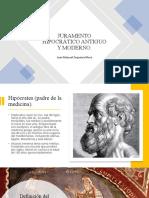 Juramento Hipocrático Antiguo y Moderno (Juanma)