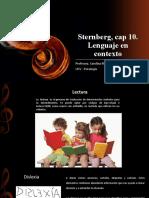 Sternberg 10 Lenguaje en Contexto