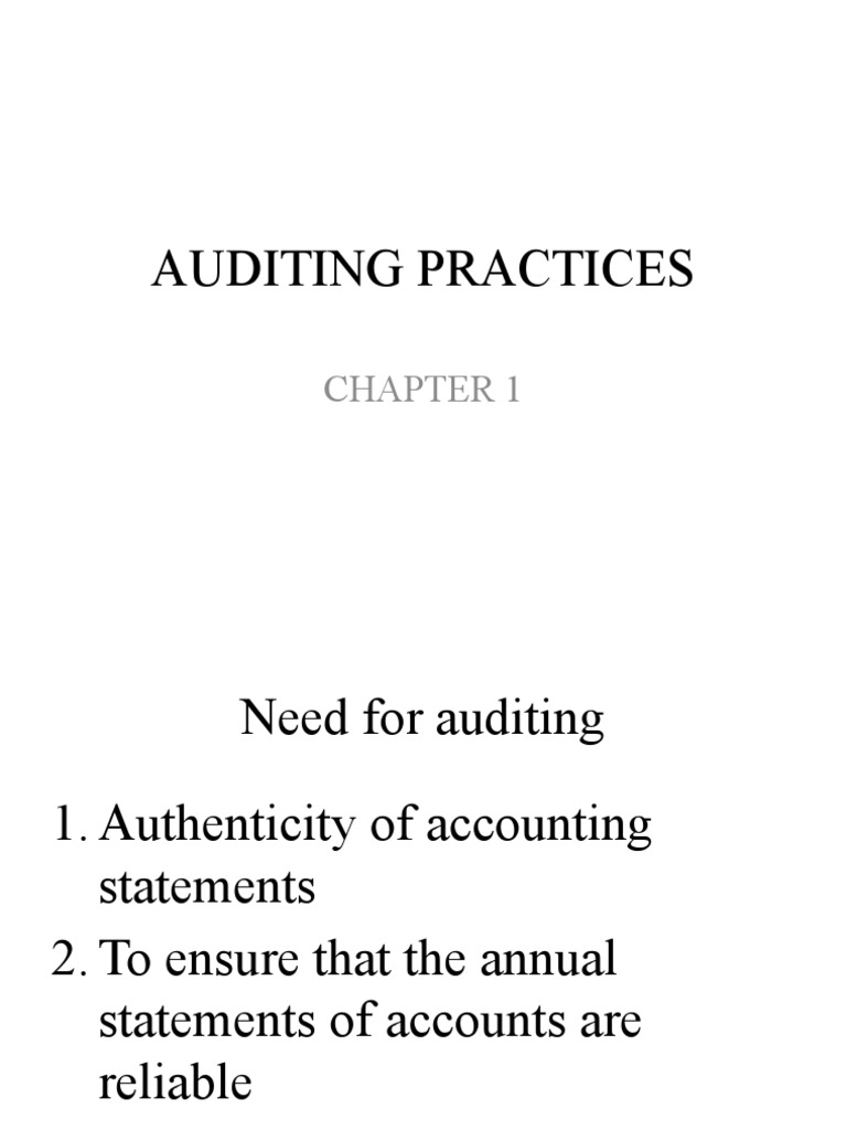 auditing chapter two Consolidated audit guide for audits of hud programs handbook (20004)  other matters the auditor should consider in preparing for the audit chapter 2 contains.