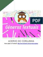 Generos Textuais Para 4 e 5 Ano
