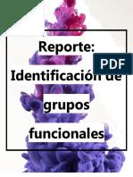 IDENTIFICACION DE GRUPOS FUNCIONALES