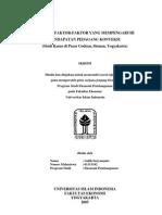 skripsi ekonomi pasar (supply&demand)