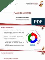 PLANES DE MUESTREO