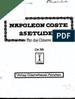 PMLP70249-Coste 25 Etudes Op38 Text