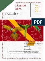 Aves del caribe Taller 1-