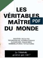 Camman Robert - Les Veritables Maitres Du Monde
