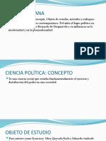 CIENCIA POLITICA 04 OBJETO Y MÉTODOS