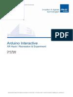 Workshopbericht Arduino interactive camera