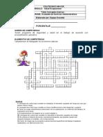 Crucigrama conceptos basicos .