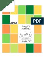 AVA - Reglas AVA Sobre Arbitraje Independiente