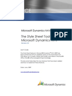 Changes to the Microsoft Dynamics NAV Style Sheet Tool Version 2.0