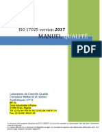 Manuel Qualite 17025 Sept 2019