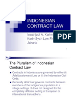 Indonesian Contract Law