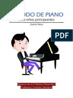 Método de piano para niños principiantes