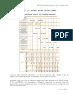 EJERCICIOS SECCIONES DE CONDUCTORES