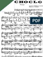 El Choclo piano partitura