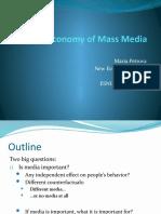 Political Economy of Mass Media